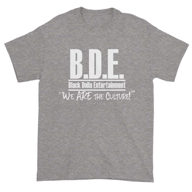 Image of SPORT GREY - B.D.E. We Are The Culture T-Shirt