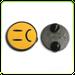 Image of PLOX Pin (Sad Emoji)