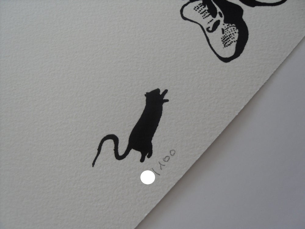 "Image of BLEK LE RAT - ""BEGGAR"" (LE MENDIANT) - LTD ED SCREENPRINT OF 100"