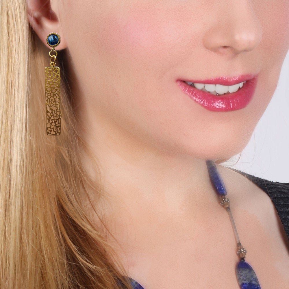 Image of GAUDI MOSAIC EARRINGS