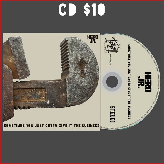 """Image of """"Sometimes You Just Gotta Give It The Business"""" - CD ONLY"""