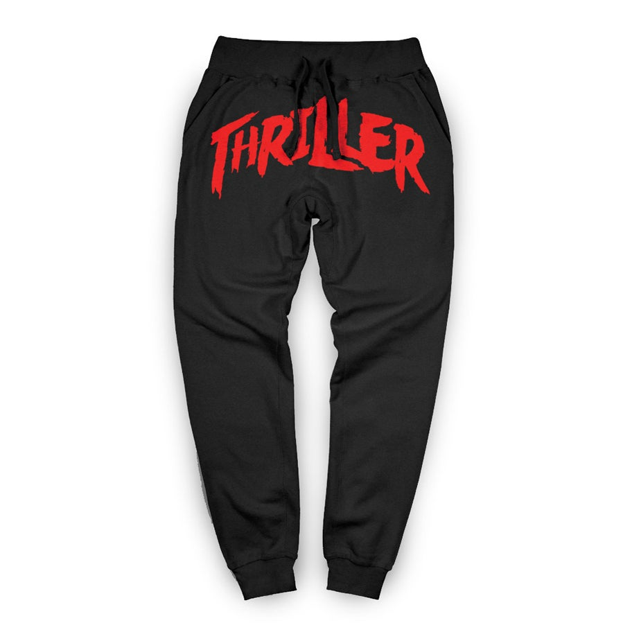 Image of Thriller Black Joggers
