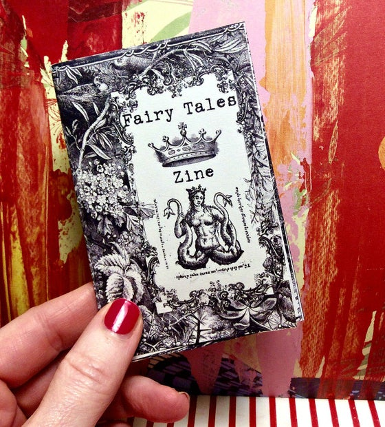 Image of mini zine