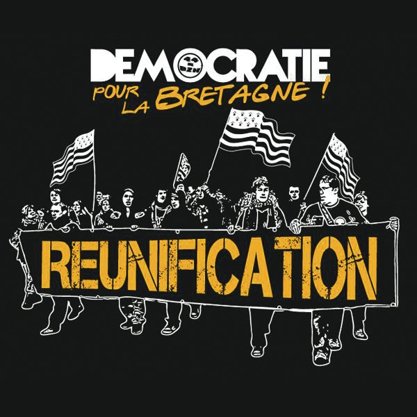 "Image of T-shirt ""REUNIFICATION"" pour homme"