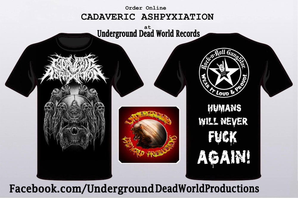 Image of Cadaveric Asphyxiation T-shirt