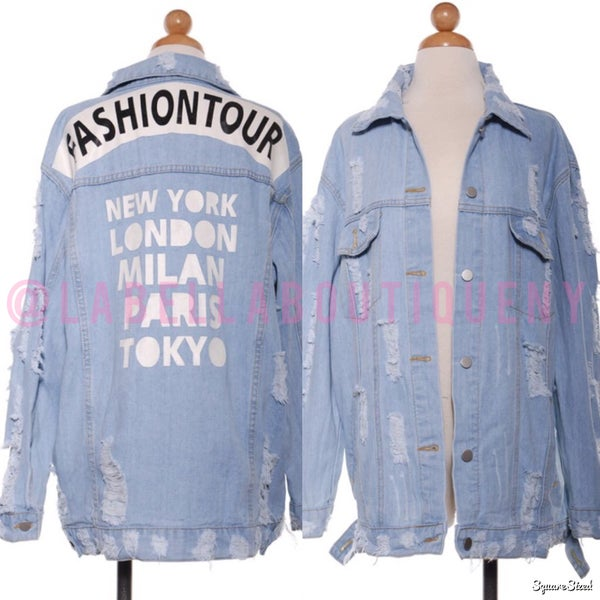 Image of FASHION CAPITALS 📍DENIM JACKET
