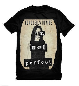 "Image of ""I'm Not Perfect"" shirt"