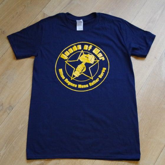 Image of Blue Quads of War Shirt