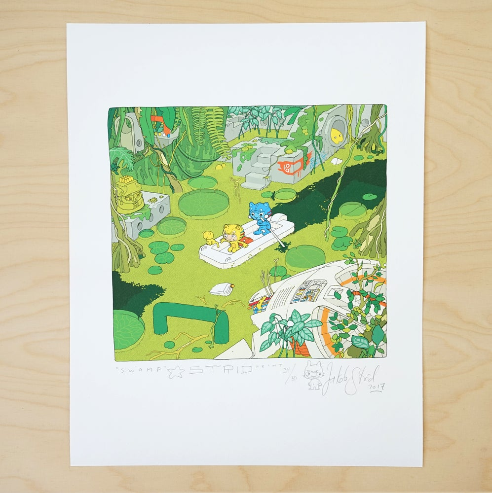 Image of SUMP I · Kunstprint