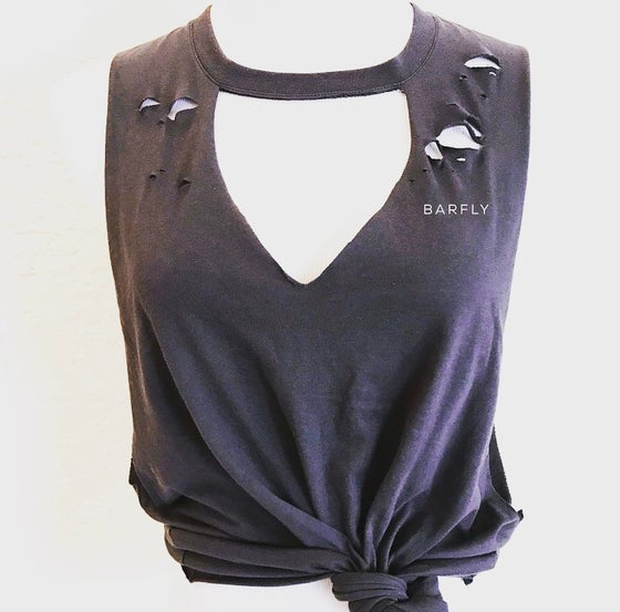 Image of Barfly Distressed Tank