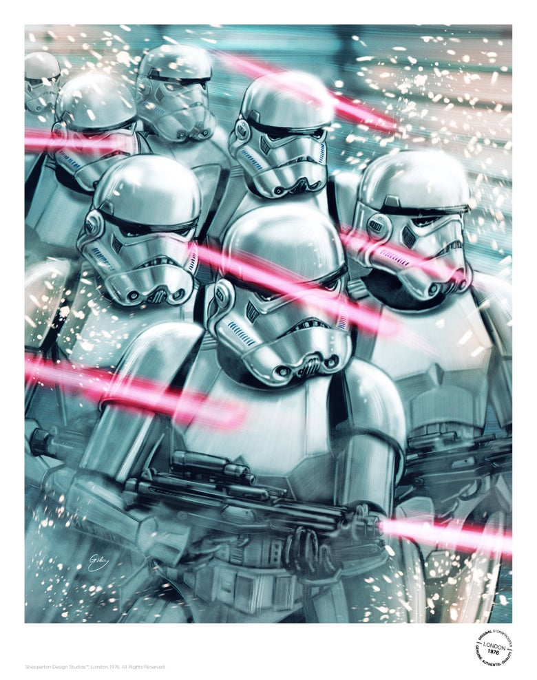 Image of Stormtroopers (officially licensed print – artist proof)