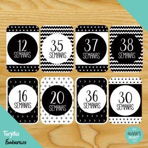 Image of Pregnancy Cards - Tarjetas Embarazo