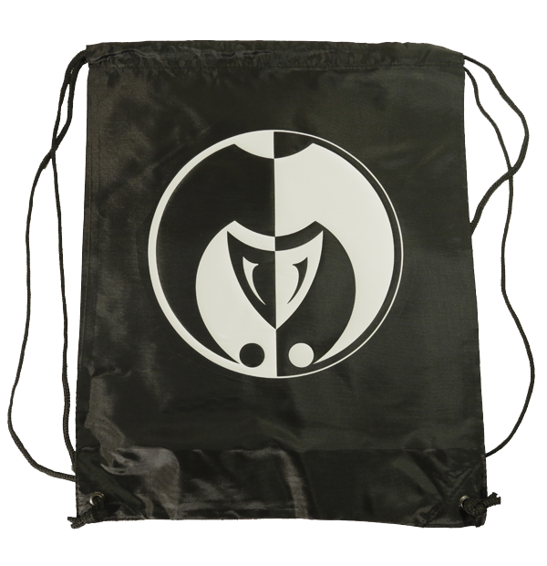 Image of The Jokerr Drawstring Bag/Backpack (Black & White)