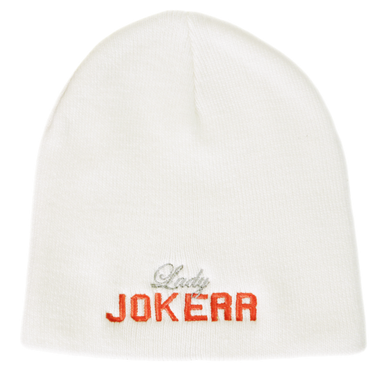 Image of Lady Jokerr Legacy Letterman Beanie