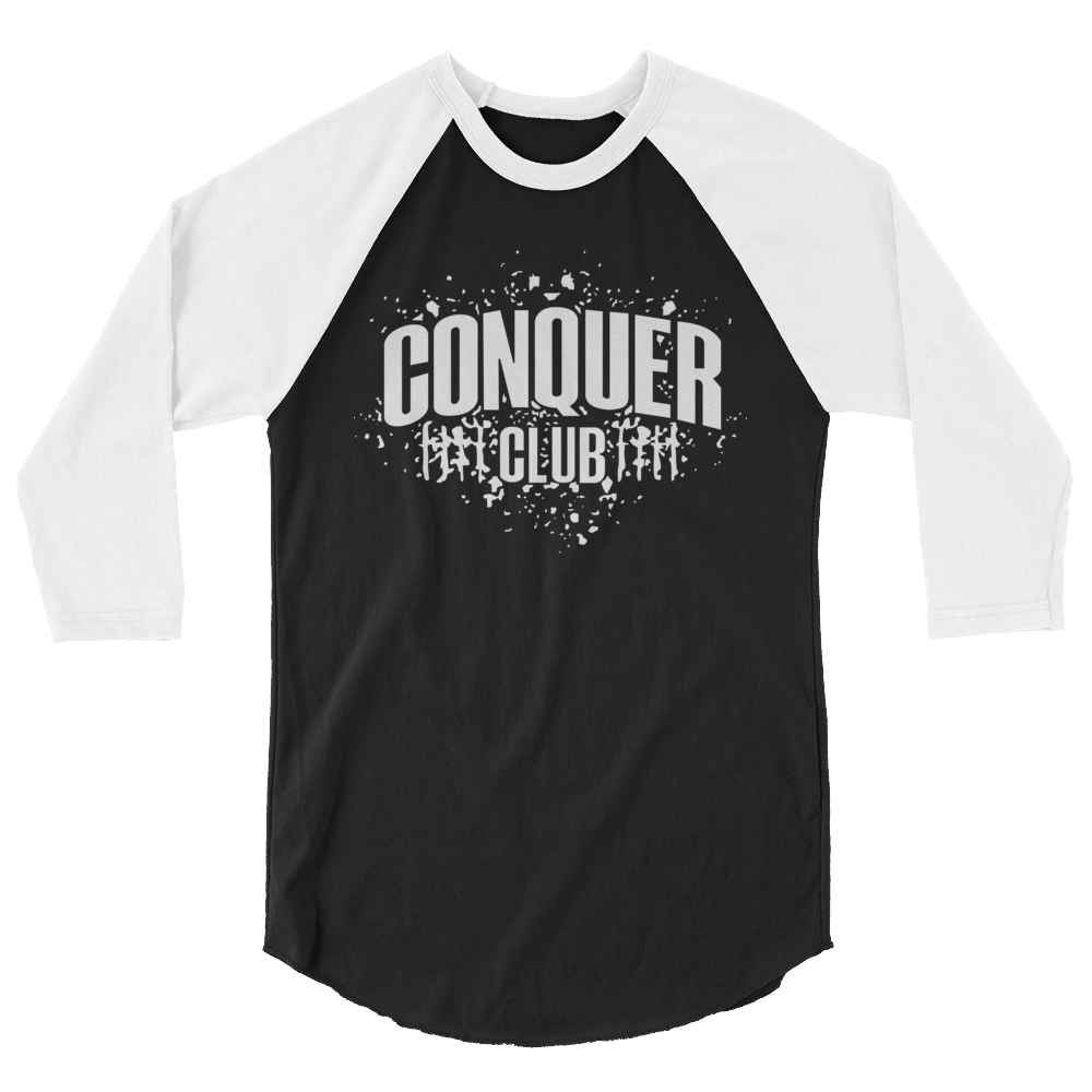 Image of Conquer Club 3/4 Sleeve Shirt
