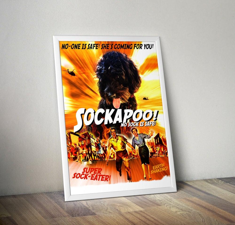 Image of 'Sockapoo' Cockapoo Poster