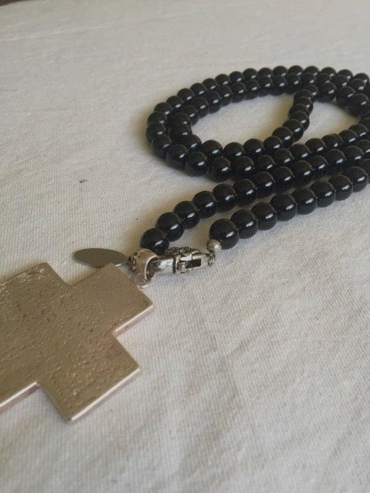 Image of NO50 -  black onyx necklace