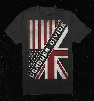 Image of US/UK flag shirt