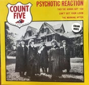 Image of EP : The Count V : Psychotic Reaction + 3