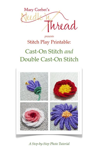 Image of Cast-On & Double Cast-On Stitch Printable