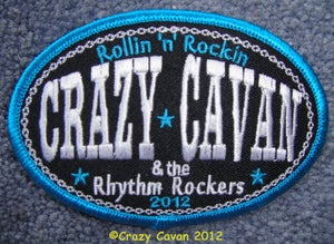 "Image of ""ROLLIN 'N' ROCKIN"" 2012 - OVAL PATCH"