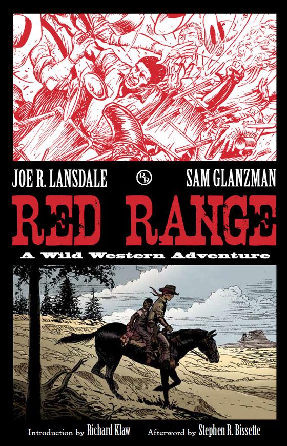 Image of RED RANGE: A Wild Western Adventure by Joe R. Lansdale & Sam Glanzman