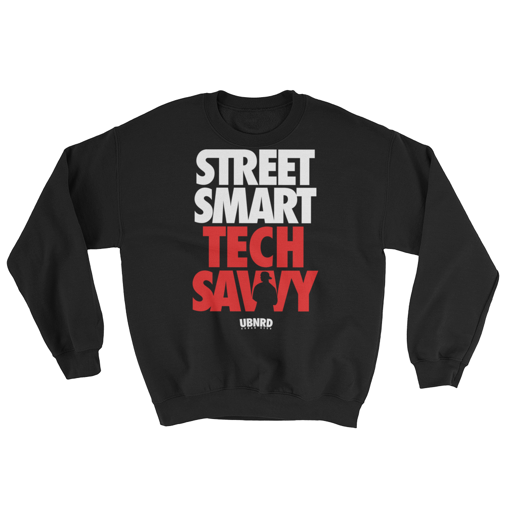 Image of The Hybrid crewneck by Urban Nerd ™ black