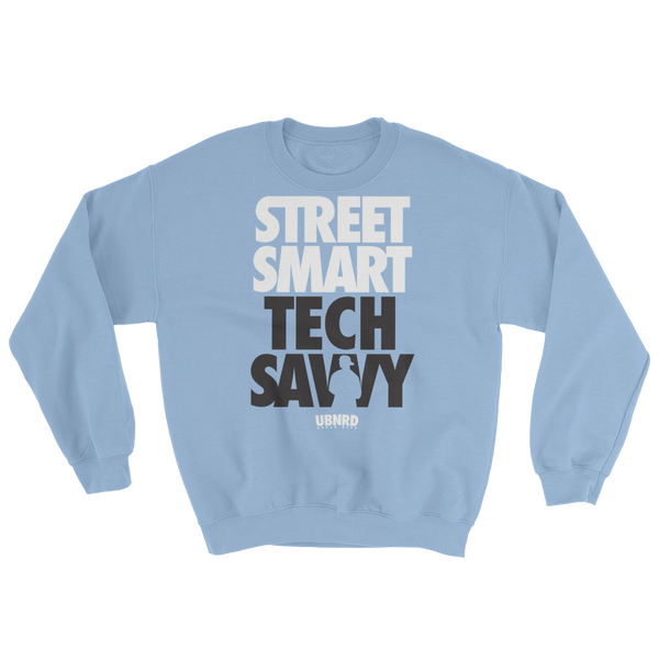 Image of The Hybrid crewneck sweatshirt (Light Blue) by Urban Nerd ™