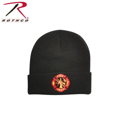 Image of Fire Dept Embroidered Winter Cap