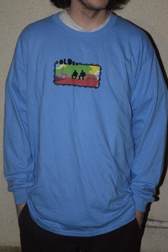 Image of AciD LonGSleEve TeE Blue