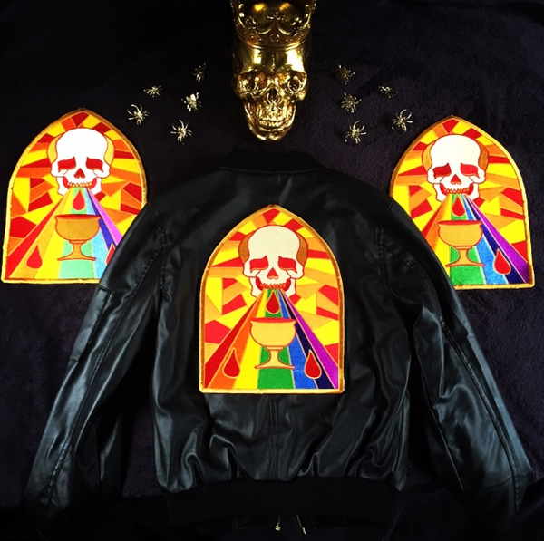 """Image of """"Queer Warfare"""" Backpatch"""