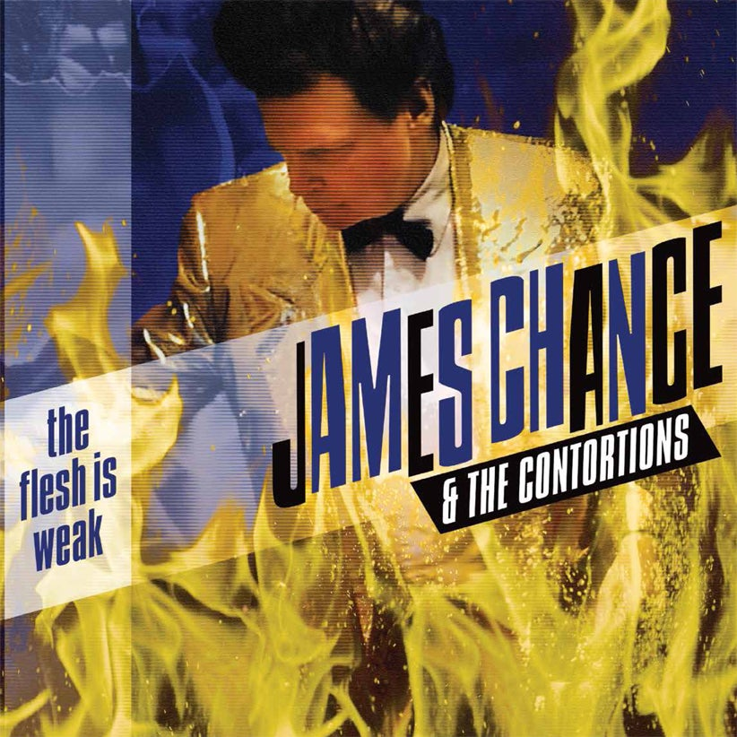 "Image of James Chance and The Contortions ""The Flesh Is Weak"" Vinyl"