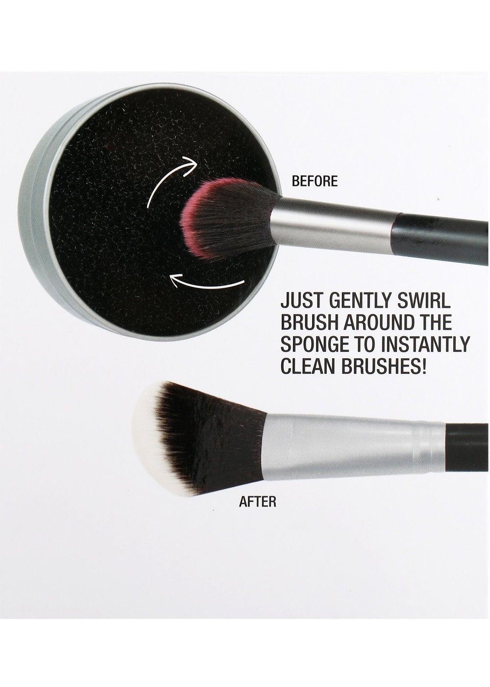 Image of Waterless brush cleaning sponge