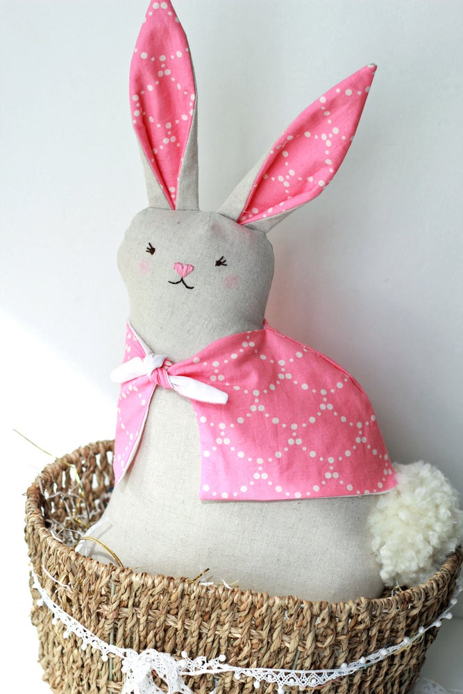 Image of Modern Folksy Bunny Spring Sewing Kit 2017