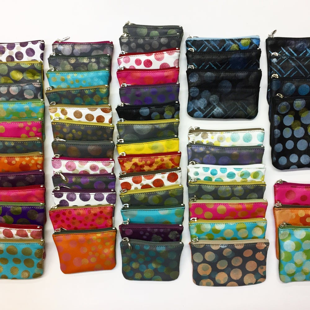 Image of Mini Coin Purse/Zip Pouch