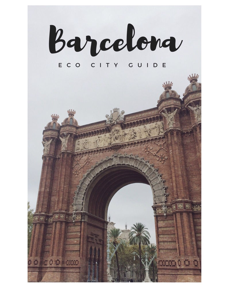 Image of ECO GUIDE TO BARCELONA E-BOOK