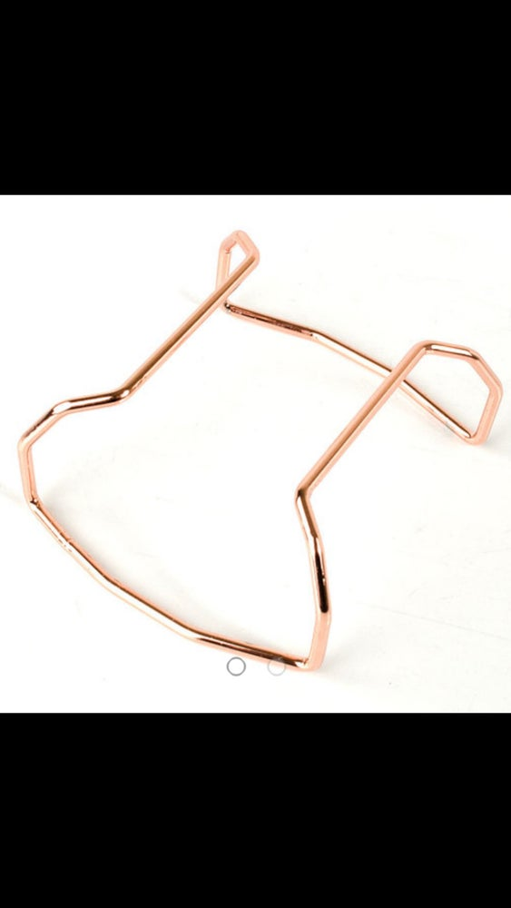 Image of Protective Bar - Rose Gold Tone