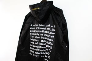 Image of Meme Definition Raincoat  [Pre-Order]