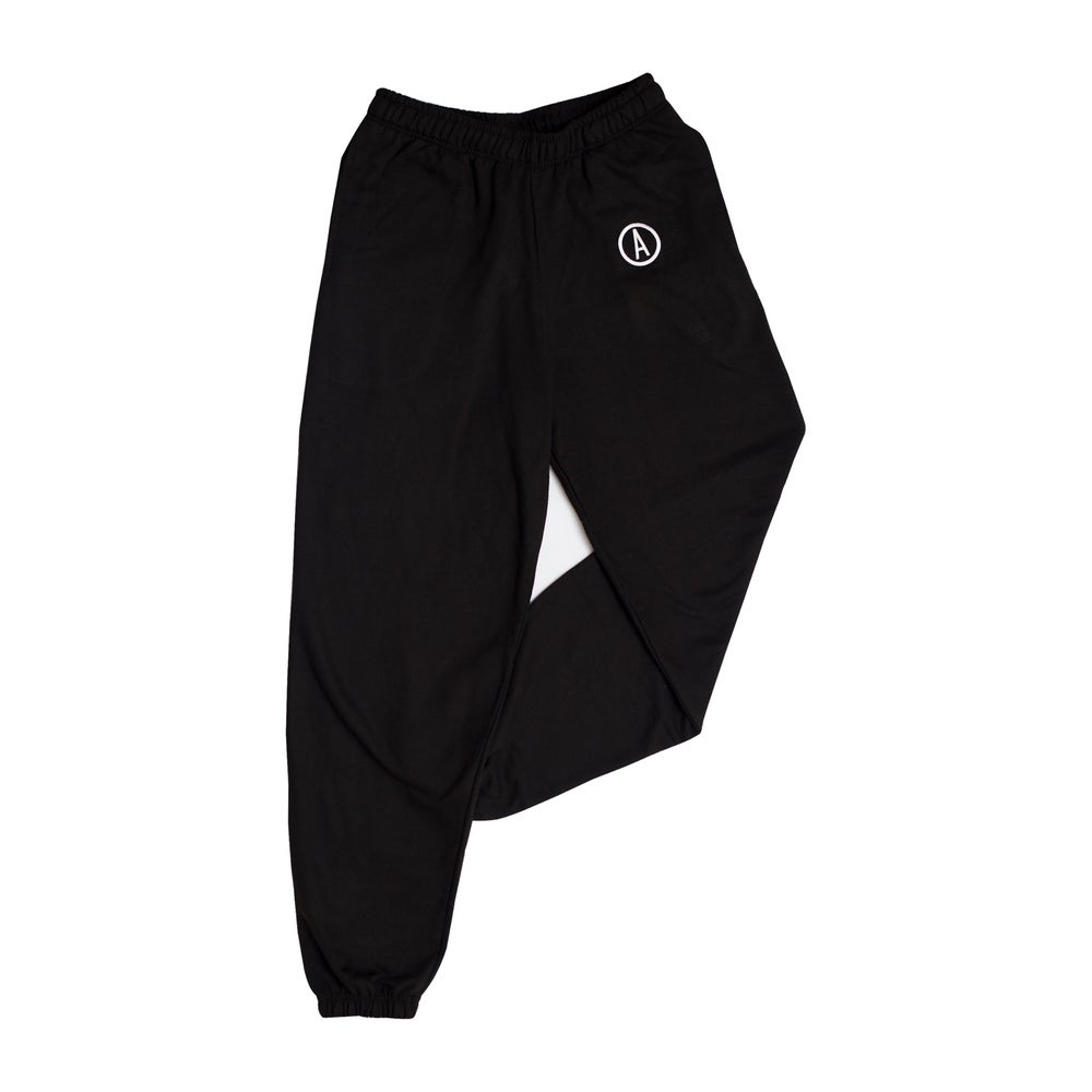 Image of 'REBORN' Joggers - Black
