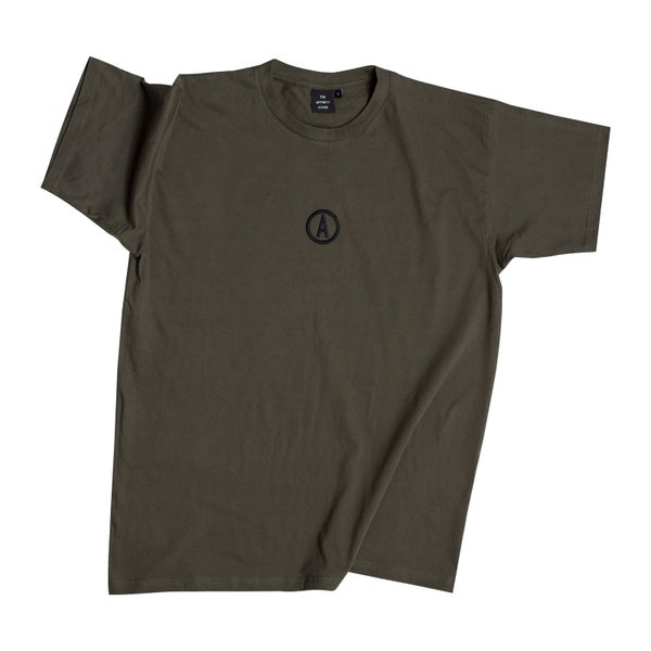 Image of 'REBORN' Short Sleeve - Khaki