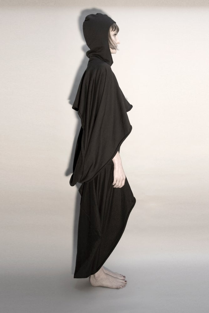 Image of SACRED: SCOTIA HOODED COWL SCARF