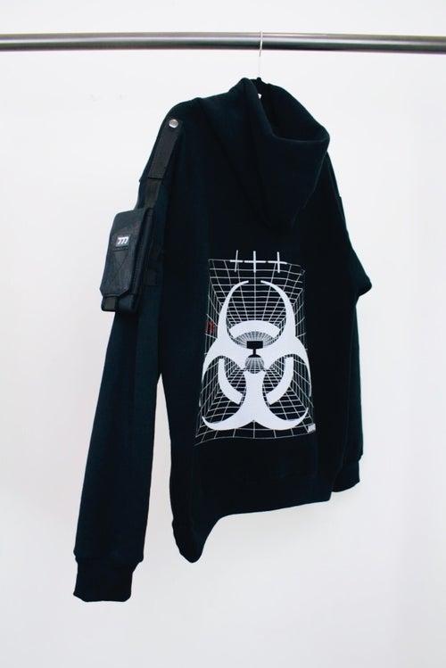 Image of Bioweapon Heavy-Duty Tactical Hoodie (black)