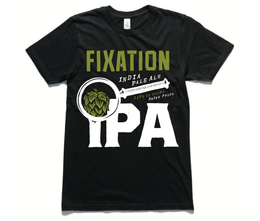 Image of Fixation IPA tee