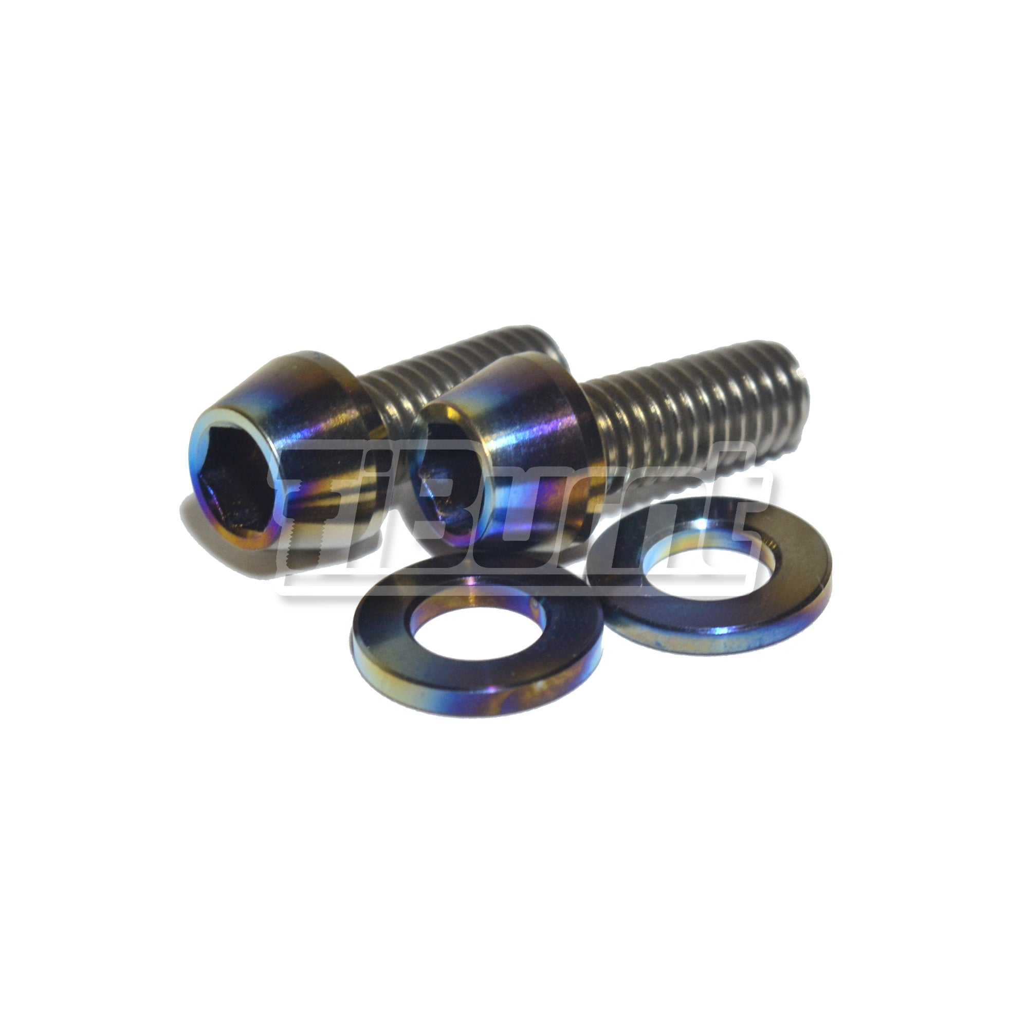 tiburnt tiburnt titanium license plate screw kit. Black Bedroom Furniture Sets. Home Design Ideas