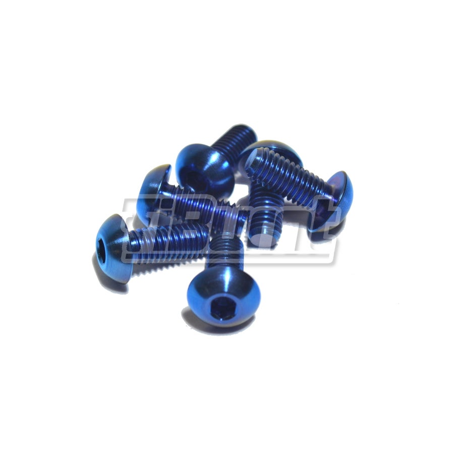 Image of Titanium Steering Quick Release & Hub Screws (Button Head)