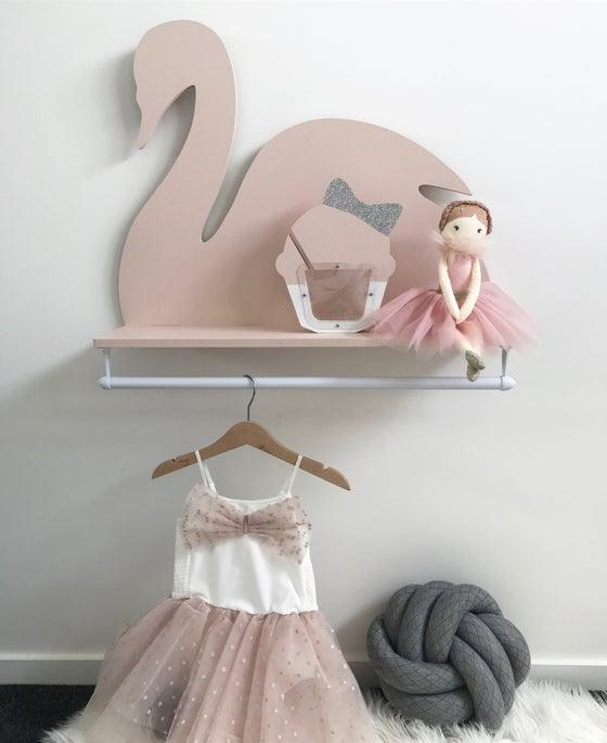 Image of Swan Wall Rack