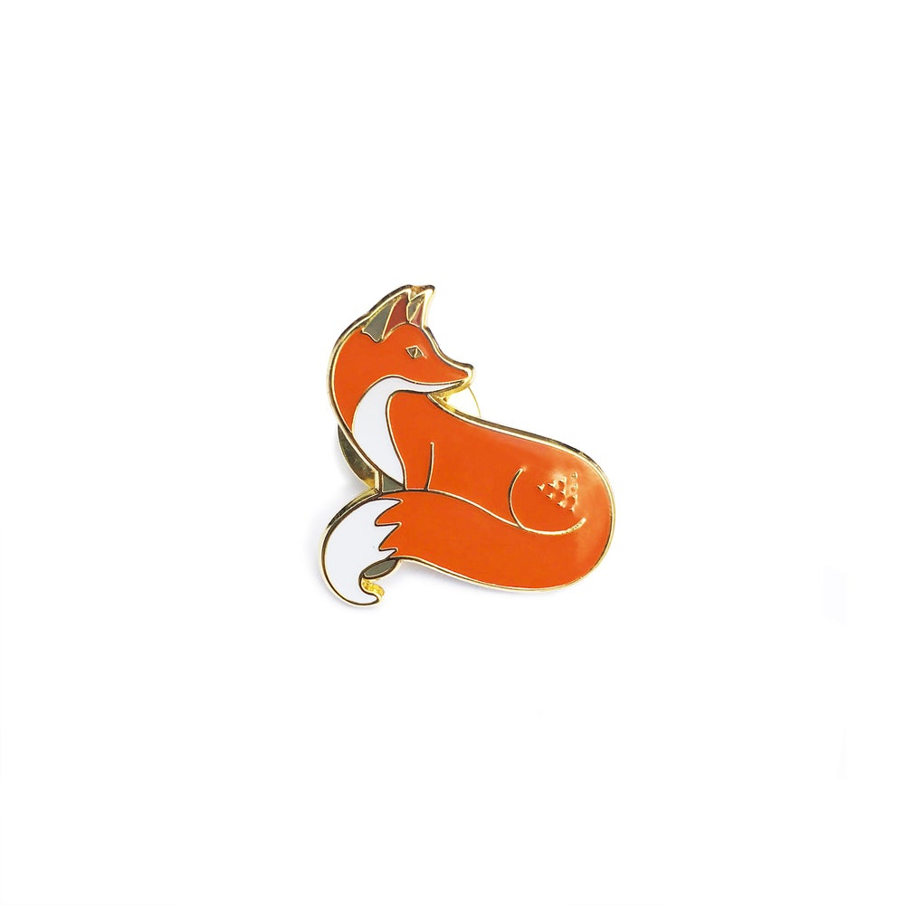 Image of Quinn the Fox Pin Badges