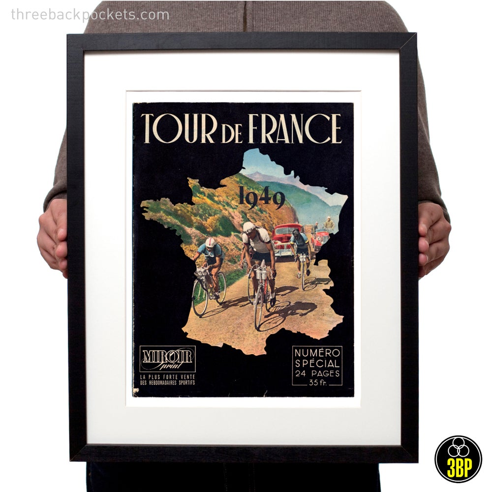 Image of Tour de France 1949 magazine cover print