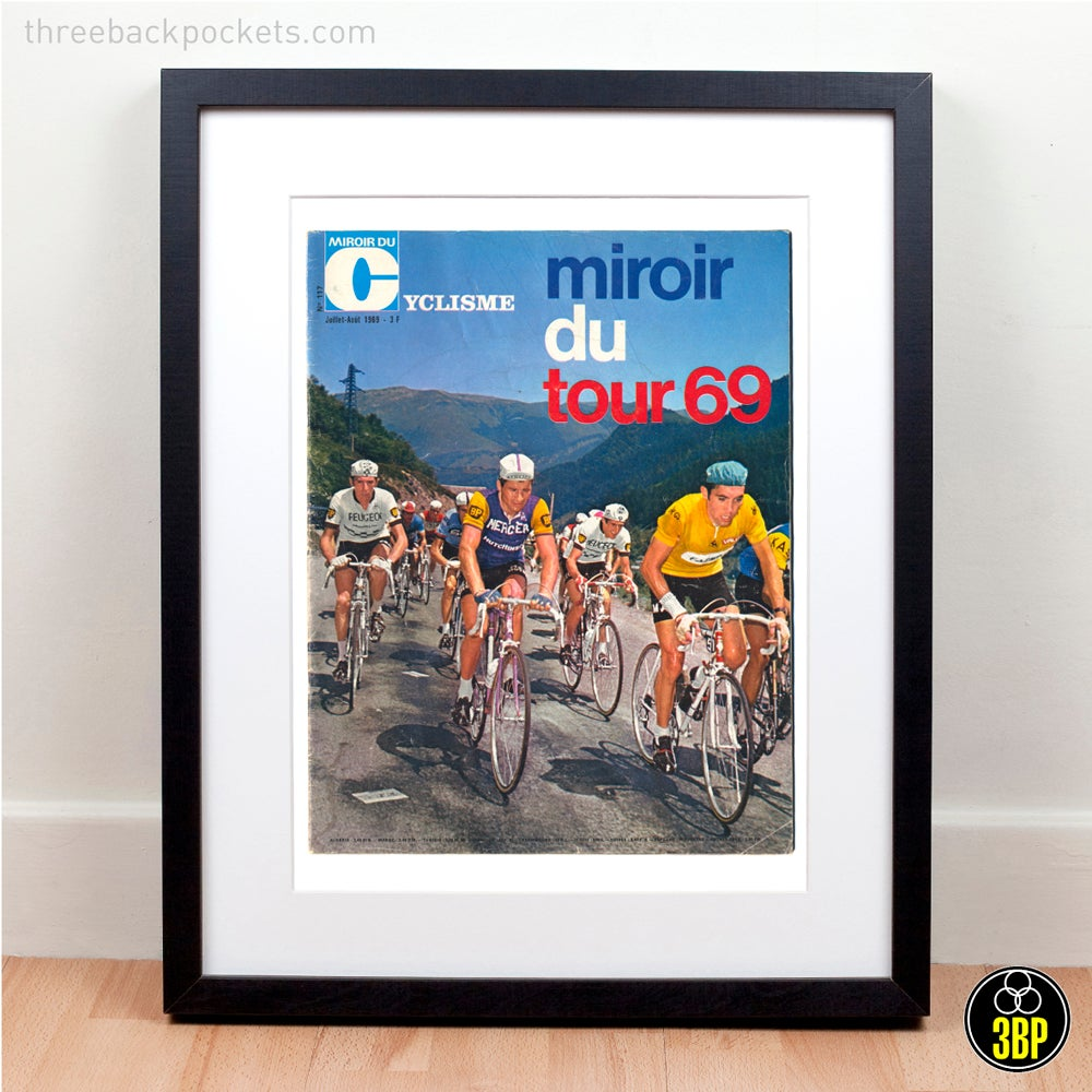 Image of Tour de France 1969 magazine cover print