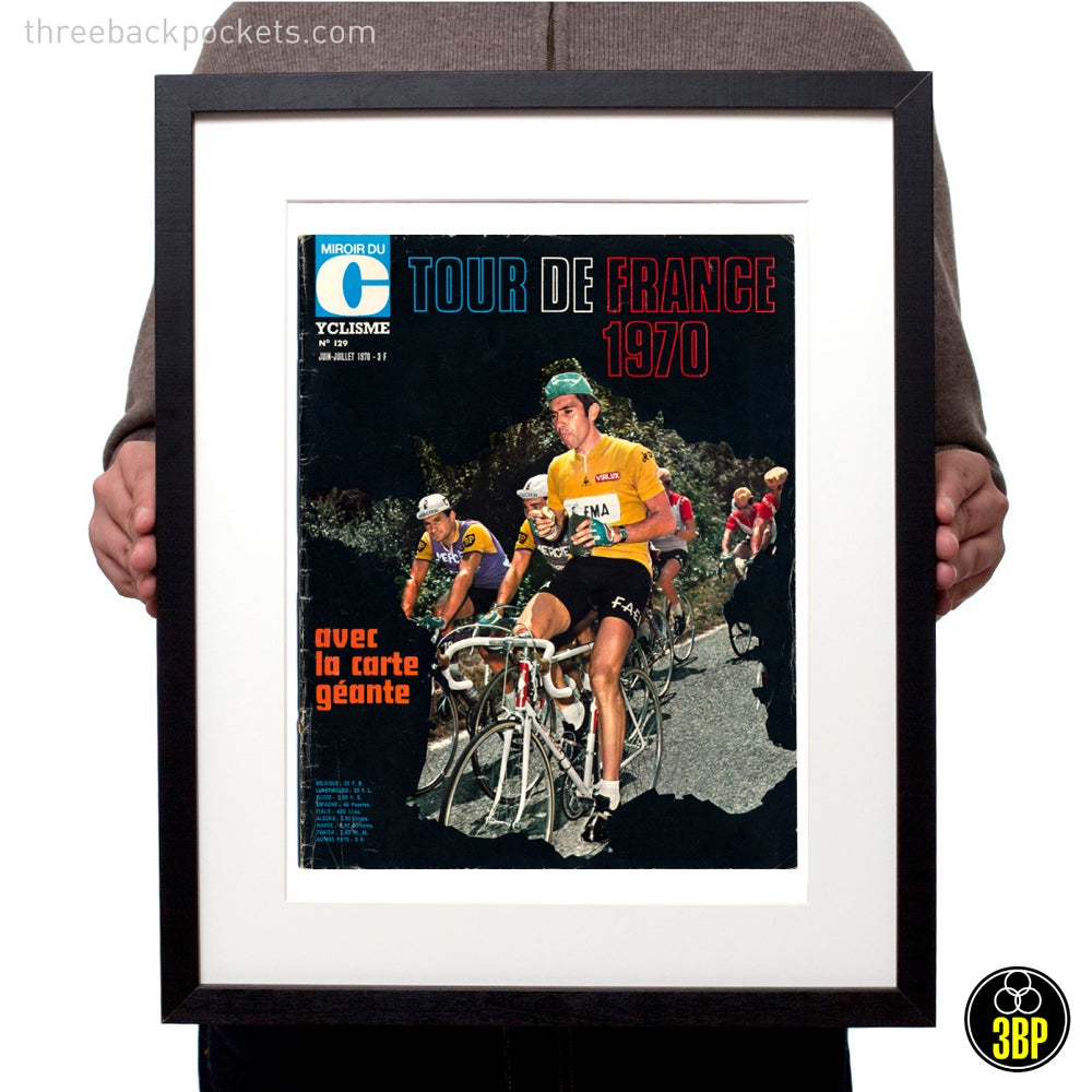 Image of Tour de France 1970 magazine cover print